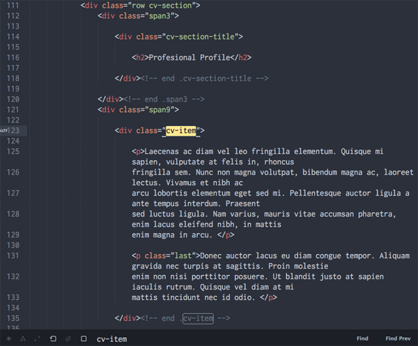 Налаштування HTML шаблону